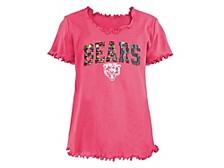 Chicago Bears Big Girls Flip Sequin T-Shirt