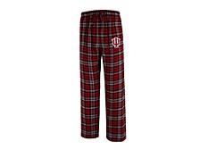 Indiana Hoosiers Men's Parkway Plaid Pajama Pants