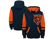 Chicago Bears Big Boys Stadium Full-Zip Hoodie