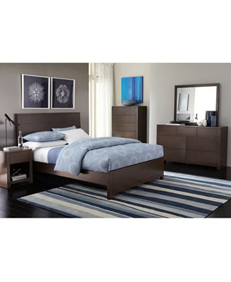 Furniture Tribeca Queen Size Bed Created For Macy S Furniture