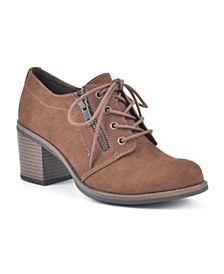 Desaray Lace-Up Booties