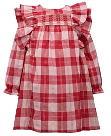 Toddler Girls Plaid Float Dress