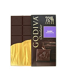 Set of 10, Large Dark Chocolate Bars