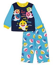 Baby Shark Toddler Boy 2 Piece Pajama Set