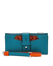 Women's Willa Slim Tab Leather Wallet