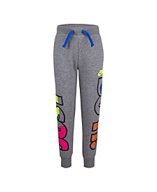 "Little Boys French Terry ""Just Do It"" Logo Pants"