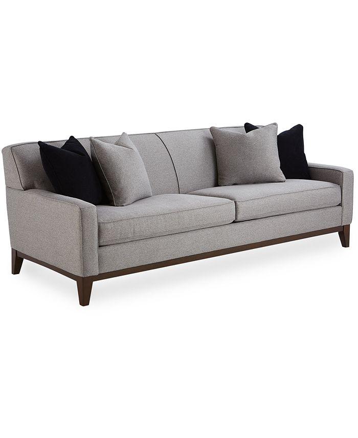 "Furniture - Effie 95"" Grand Fabric Sofa"