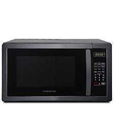 Classic FMO11AHTBSB 1.1 Cu. Ft 1000-Watt Microwave Oven, Black Stainless Steel