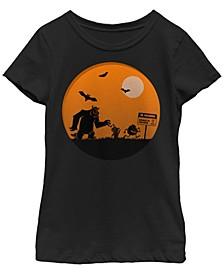 Big Girls Monsters Inc. or Monsters University Halloween Monsters Short Sleeve T-shirt