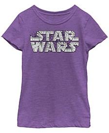 Big Girls Star Wars Wrap Star Short Sleeve T-shirt