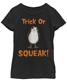 Big Girls Star Wars - Episode 8 Trick or Squeak Short Sleeve T-shirt