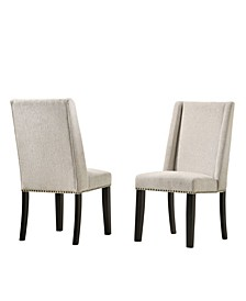Zoe Upholstered Dining Chair, Set of 2