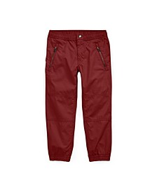 Little Boys Poplin Jogger