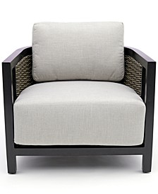 Deco Outdoor Club Chair with Sunbrella® Cushions, Created for Macy's