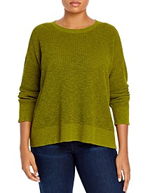 Organic Drop-Shoulder Sweater