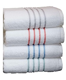 Egyptian Cotton Cableweave Bath Towel Collection, Created for Macy's