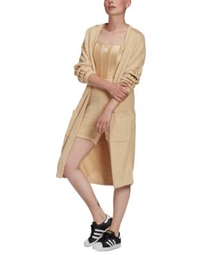 Adidas Originals Tunics ADIDAS ORIGINALS WOMEN'S LONG KIMONO JACKET