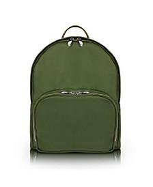 "Neosport 15"" Nano Tech-Light Nylon Classic U Shape Laptop Backpack"