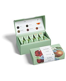 Fleur Presentation Box with Set of 20 Pyramid Teas