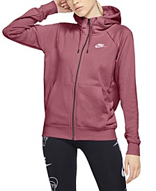 Women's Sportswear Essential Fleece Zip Hoodie