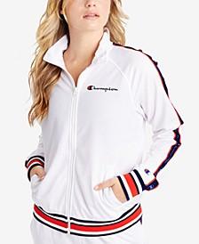 Plus Size Track Jacket