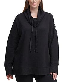 Calvin Klein Performance Plus Size Logo Sweatshirt