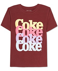 Juniors Coke Graphic Print T-Shirt