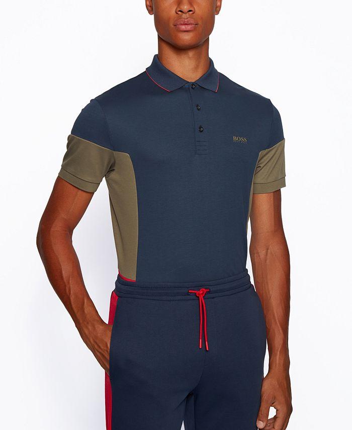 Hugo Boss - Men's Paule 1 Slim-Fit Cotton Polo Shirt