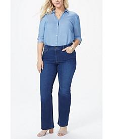 Plus Size Barbara Bootcut Jeans