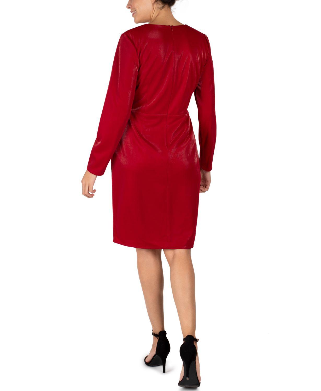 Julia jordan Scuba Faux-Wrap Sheath Dress & Reviews - Dresses - Women - Macy's