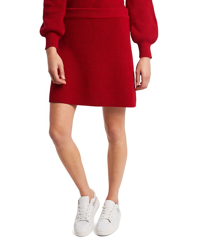 Riley & Rae - Ribbed Sweater Skirt