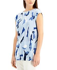 Printed Sleeveless Tunic, Created for Macy's