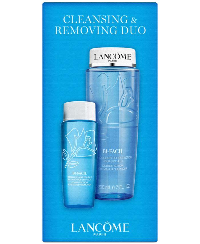Lancôme 2-Pc. Bi-Facil Cleansing & Removing Set & Reviews - Beauty Gift Sets - Beauty - Macy's