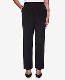 Women's Missy Catwalk Twill Proportioned Short Pant