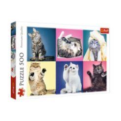 Jigsaw Puzzle Kittens, 500 Piece