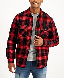 Men's Madera Plaid Flannel Shirt, Created for Macy's