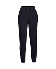 Big Girls Rival Fleece Graphic Pants