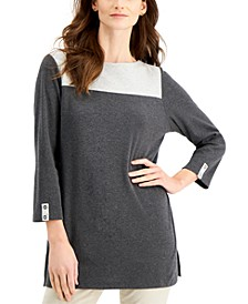 Colorblocked Tunic, Created for Macy's