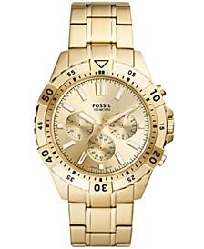 Men's Garrett Gold-Tone Bracelet Watch 44mm