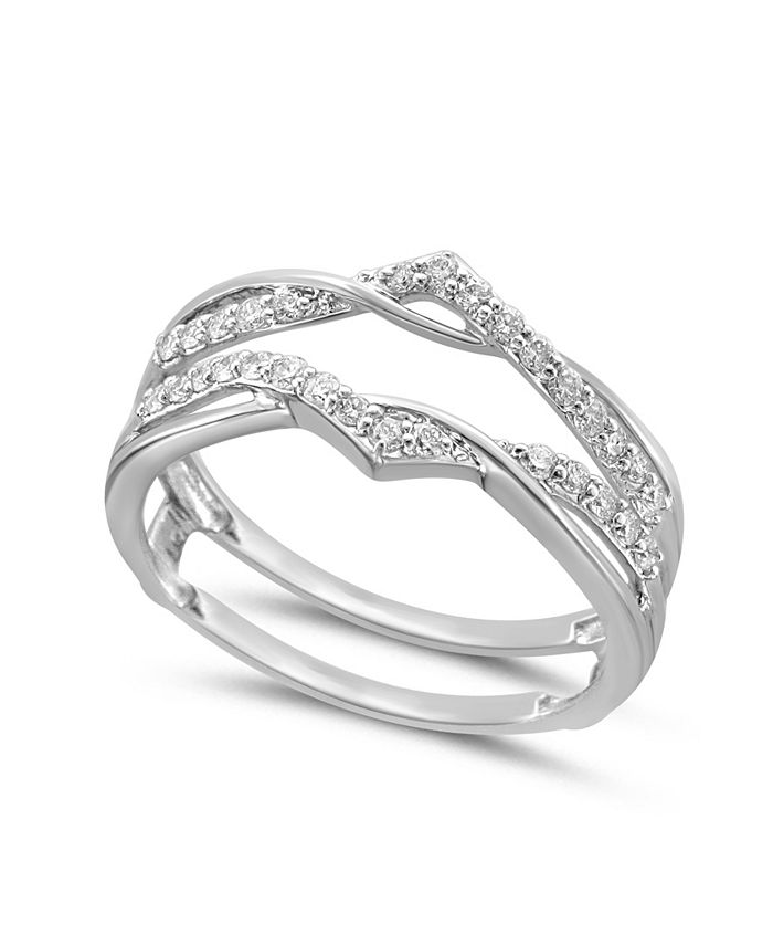 Macy's - Diamond Enhancer Ring Guard (1/4 ct. tw.) in 14K Gold