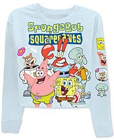 Trendy Plus Size SpongeBob SquarePants-Graphic T-Shirt