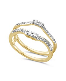 Diamond Enhancer Ring Guard (1/3 ct. tw.) in White or Yellow Gold
