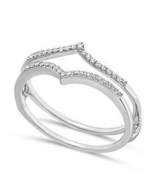 Diamond Enhancer Ring Guard (1/7 ct. t.w.) in 14K White Gold