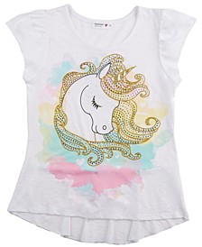Girls Unicorn Tee