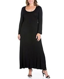 Women's Plus Size Maxi Dress