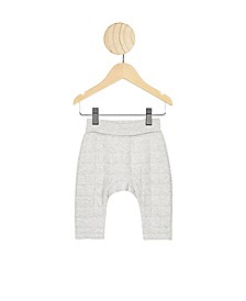 Baby Boys and Girls Rory Quilted Sweatpant