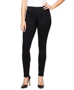 Women's Midrise Skinny Short Length Jeans