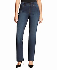 Women's Relaxed Straight Long Length Jeans