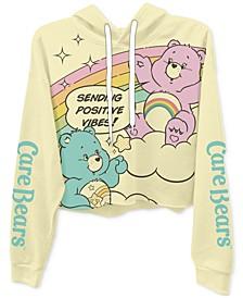Juniors' Care Bears Graphic Hoodie T-Shirt