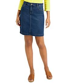 Petite Denim Skirt, Created for Macy's